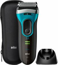 Braun - Series 3 Wet/Dry Electric Shaver - Premium Blue Brand New in Box Sealed