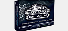 2020 TOPPS CHROME BLACK EDITION UNOPENED 1 REFRACTOR & 1 ENCASED AUTO PER BOX