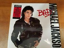 Michael Jackson: Bad, 10 Tracks, LP Record w / Hype Sticker & Shrink Wrap