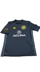 Adidas MLS Columbus Crew SC XL Youth Jersey Black/Grey/Yellow Sz  Ce6267
