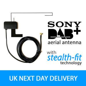 SONY DAB DAB+ Glass Mount Window Glass Aerial Antenna