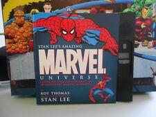 STAN LEE'S AMAZING MARVEL UNIVERSE AUDIO BOOK (HARDBACK 2006)  - NEAR MINT