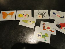 Teaching Resources - Number Line Display to 50 - Minibeasts