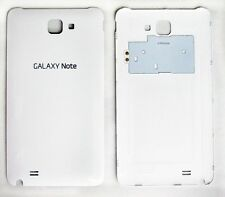 Genuine OEM Original White Samsung Galaxy Note SGH i717 Battery Back Door Cover