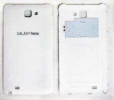 White Samsung Galaxy Note i717 Battery Rear Back Door Cover Case