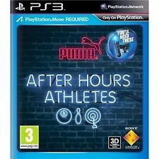 *After Hours Athletes PS3* (Move Required) Complete ~Fast & Free Postage~ ELE7