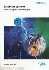 Fokker Elmo B.V. Stork Electrical Systems Prospekt 2000 brochure prospectus
