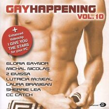 Gay Happening: Vol. 10 by Various Artists (CD, 2005, Megahit Records)