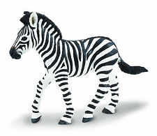 ZEBRA BABY WILD ANIMAL MODEL by SAFARI WORKS WELL WITH SCHLEICH AND PAPO -271829