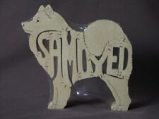 Samoyed  Dog Wooden Amish made Toy Scroll Saw Puzzle