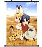 B4416 Kemono Friends anime manga Wallscroll Stoffposter 25x35cm