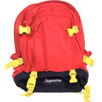 Supreme 22nd El Martillo Nylon Backpack Red Black Yellow Cordura 2007 Box Logo