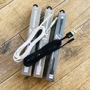 CAVO RINFORZATO USB CARICA RAPIDA DI QUALITA' per IPHONE IPAD VELOCITA 2.1A 094i