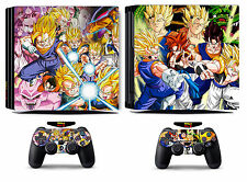Dragon Ball 272 Vinyl Skin Sticker Cover for Sony PS4 Pro PlayStation 4 Pro