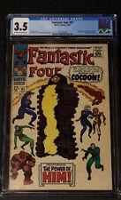 Fantastic Four # 67 - Origin & 1st brief Him (Warlock) VG - CGC 3.5
