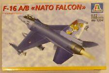 Italeri 1/72 F-16 A/B Nato Falcon Model Kit 1204 NIB