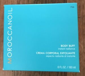 NEW! MoroccanOil Body Buff New In Box 6oz