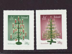 Iceland 2019 MNH - Christmas 2019 - set of 2 stamps