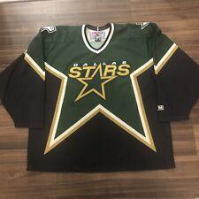 CCM Dallas Stars NHL Hockey Jersey 1997 Vintage Green Alternate Third XXL 2XL