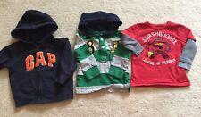 Paquete niño bebé brecha edad 1 - 2 18 - 24 meses-Pirata Camiseta Sudadera Con Capucha Swashbuckle
