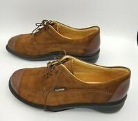 MSRP$325 MEPHISTO AIR RELAX Oxford shoes Brown Suede Lace Up Women's Sz 9