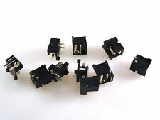 DC Jack Socket 2.1mm Pin PCB Mount DCSPC21 10 pieces OM0854a
