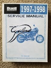 1997-1998 Buell M2 Cyclone Service Manual