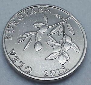 20 Lipa 2018. Croatia coin, Latin text - OLEA EUROPAEA, nice coin !