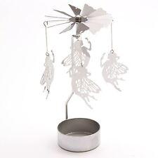 FATA Luce Tè alimentato Spinner 14cm High Tea Light Supporto Decorazione Di Filatura