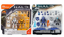 Mega Construx (Bloks) Halo Spartan & Covenant Armor Customizer Pack LOT OF 2 NEW