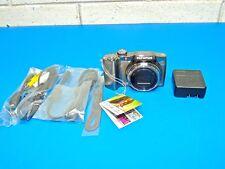 "Olympus SZ-30MR 16 MP Digital Camera Wide-Angle 24x Optical Zoom 3"" LCD"