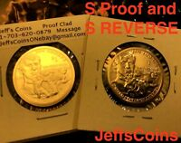 2018 S Proof & REVERSE Native American Sacagawea Coins New Golden Dollars 18XC 2