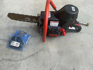 * ICS 660GC ** CONCRETE CHAINSAW WITH 3 EXTRA CHAINS