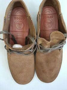 Crocs stretch sole desert boots Men's Size 11 201195