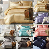 Comfy Bedding Quilt Duvet Cover Set King Queen Size Pillowcase Bed Bedroom Home