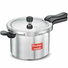 Prestige Svachh Aluminum Pressure Cooker 5 L Induction Base Unique Deep Lid