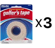 "Mueller Golfer's Conforming Elastic Protective Finger Grip Tape 1""x5yd (3-Pack)"