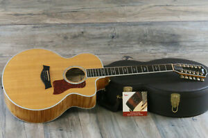MINTY! 2005 Taylor 655CE Jumbo Acoustic/Electric 12-String Flamed Maple + OHSC