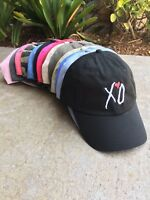 XO Custom Unstructured EMBROIDERED Dad Hat Adjustable Cap Multi Colors