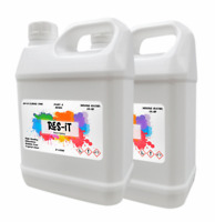 4L Res-iT Epoxy Resin Kit 1:1 Crystal Clear Art Craft Fast Cure Jewellery