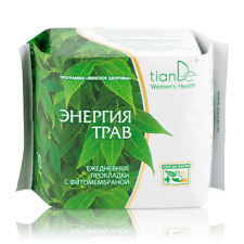 TianDe Herbal Energies Phytomembrane Daily Panty Liners Menstrual Pain Relief