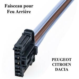 Reparatur Strahl Rücklicht für Peugeot 3008 Expert Partner 1606248780