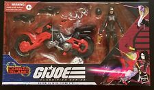 GI JOE Classified Series: BARONESS w/ COBRA COIL BIKE, IN HAND 03