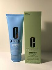 Clinique City Block Purifying Charcoal Clay Mask + Scrub FULL SIZE BNIB