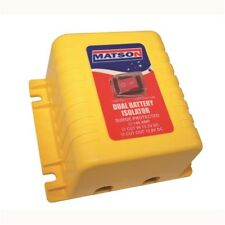 Matson Battery Isolator 12 Volt 140 amp with Override Switch  Dual Battery VSR