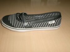 shoes womens girls vans off the wall loni -- size 7 womens