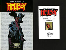 Mike Mignola SIGNED AUTOGRAPHED Hellboy Weird Tales Volume Two SC 1st ed 1st Pri