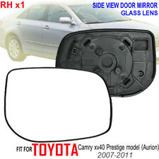 2007-2011 TOYOTA CAMRY XV 40 PRESTIGE AURION SIDE DOOR MIRROR GLASS LENS RIGHT