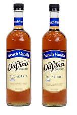 DaVinci Gourmet Sugar-Free French Vanilla Beverage Syrup (750 ml) 2 bottles