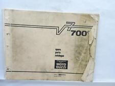 Moto Guzzi Spare Parts Catalog 700 cc V7 Motorcycle L12219